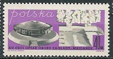 Poland stamps MNH Majdanek memorial  (Mi. 1950)
