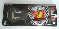 PS3 Guitar Hero Warriors of Rock Wireless Guitar & Game Bundle With Dongle