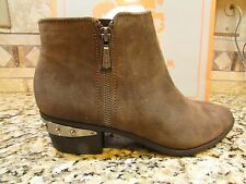 NEW SAM EDELMAN CIRCUS HOLT SUEDE LEATHER ANKLE BOOTIES BOOTS WOMENS 9.5 FREE SH