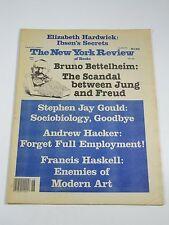 New York Review Of Books- June 30, 1983- Bruno Bettelheim, Stephen Jay Gould
