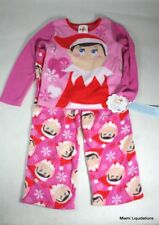 Elf on the Shelf Girl's 2pc Pajamas Target XS XSMALL Pink Holiday Xmas