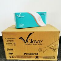 LATEX Exam Gloves Medical Gloves Non-Sterile Disposable Rubber Gloves 1000ct