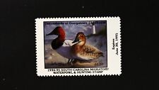 DR JIM STAMPS US STATE DUCK $5.50 SOUTH CAROLINA WATERFOWL SC-14 MINT NH 1994