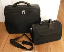 Vintage United Colours of Benetton 2 x Suitcase - Travel Case Set