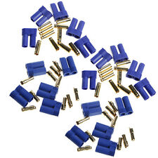 10 Pairs EC5 RC Lipo Battery Connector Gold Bullet Banana Plug Male & Female
