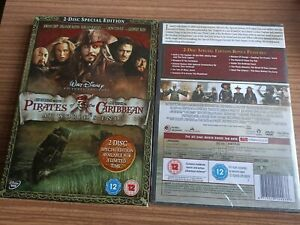 Pirates Of The Caribbean - At World's End (DVD, 2007) NEW & SEALED WITH SLIPCASE
