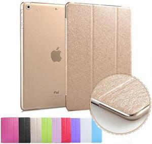 Luxury Slim Smart Wake Leather Case Cover for Apple iPad2 3 4 5 mini1 2 Air 2