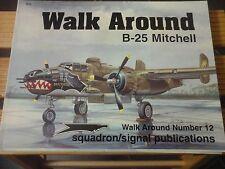 SQUADRON SIGNAL WALK AROUND B-25 MITCHELL N.12