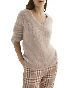 COUNTRY ROAD Beautiful Ultra Warm Pink Relaxed Wool Jumper Sweater Size  XL/ 16