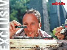 Märklin Exclusiv 4 03 Prospekt 2003 catalog model railways Marklin brochure