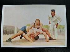 1932 Sanella Margarine Type 3 #77 Ruddies vs. Staudt (Wrestling) RARE German