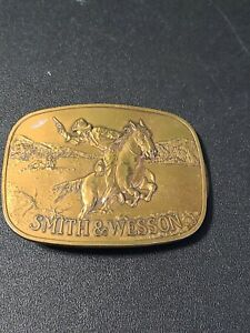 1975 Smith & Wesson S&W Pony Express Belt Buckle