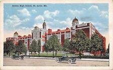 Knights of St Louis~Koch Burglary Dept~Drug Reailers Convene @ Soldan HS~1920