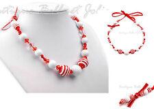 Maritime Modeschmuck-Halsketten aus Perlen
