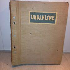 charles friésé / URBANISME / CITE LAVOISIER 1943 photos , plans ..../projet ,etc