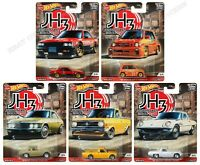 Hot Wheels Premium Car Culture 2020 Japan Historics 3 - Set of 5 - 956P In Stock