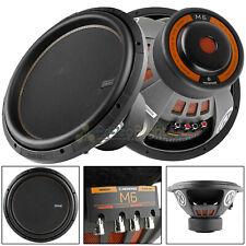 "2 Pack Memphis Audio 15"" Subwoofer 1800 Watts Max Dual 4 Ohm DVC Six Series Bass"