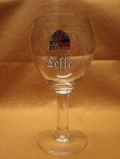 4 Leffe Belgian Ale Stem Chalice 25 cl Beer Glasses
