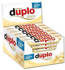 (1000g=13,67€) Ferrero Duplo White - Weiße Schokolade - 40 Schokoriegel - 728g