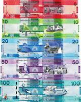 GAMBIA - Lotto 5 banconote 5/10/20/50/100 Dalasi 2019 FDS - UNC