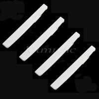 4 Pcs Compensated Bone Saddle For Acoustic Guitar Real Bone Quality Guitar Parts