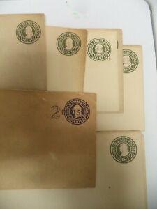 1000+ pre stamped envelopes 1¢-15¢ fractional embossed rare unused very old US
