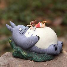 Studio Ghibli My neighbor totoro Mei Lying On Totoro Figure Resin Statue Gift
