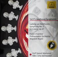 BEETHOVEN  SYMPHONY NO.5 TACET  L-240 - RAJSKI  HALF SPEED MASTERED PALINDROM