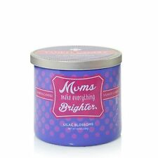 Yankee Candle Mums Make Everything Brighter lilac blossoms birthday gift