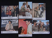 AU PARADIS A COUPS DE REVOLVER set 6 lobby card photo film 1969 WESTERN