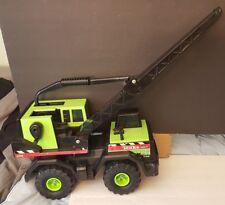 Tonka Mighty Diesel 758 Crane Green Pressed Steel