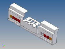 Hs3l4-Posteriore Paraurti per TAMIYA CAMION 1:14 3-Camion per 2x4 3mm LED