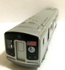 """7.5"""" New York City MTA subway E train diecast Car model with light & sound"""