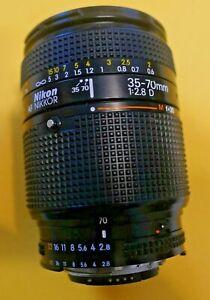 Nikon Zoom Wide Angle-Telephoto AF Nikkor 35-70mm f2.8D AF Macro Zoom Nice