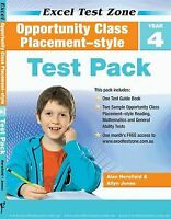 New Excel Opportunity Maths English GA Test Year 4 Workbook! OC! SELECTIVE!