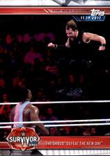 Karte 13 - The Shield vs. The New Day - Survivor - WWE Champions 2019