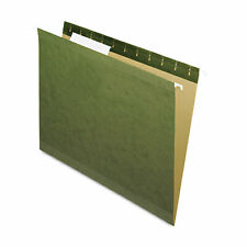 Pendaflex X Ray Hanging File Folders 13 Tab Letter Standard Green 25box 415213