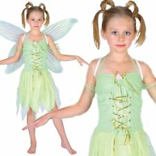 Child Neverland Fairy Outfit Fancy Dress Costume Pixie Tinkerbell Book Day Kids