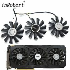 Cooling Fan For MSI GeForce GTX 1070 1060 1080 1080Ti 980Ti Duke PLD09210S12HH