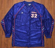 Vintage Authentic Adidas Lorenzo Thomas DePaul Blue Demons Game Jersey NCAA 44