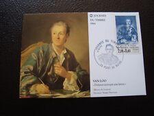 FRANCE - carte 1er jour 17/3/1984 (journee du timbre) (B12) french (A)