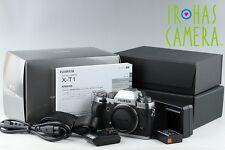 Fujifilm X-T1 Mirrorless Digital Camera In Graphite Silver With Box #11238E1