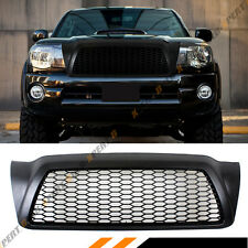 FOR 2005-11 TOYOTA TACOMA MATT BLACK JDM FRONT HOOD HONEYCOMB MESH GRILL GRILLE