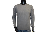 Lacoste Herren Pullover Sweater Strick grau NEU