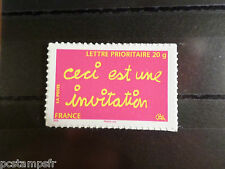 FRANCE 2008, TP AUTOADHESIF AUTOCOLLANT 204 ART BEN INVITATION neuf**, MNH STAMP