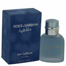 LIGHT BLUE EAU INTENSE by DOLCE & GABBANA 1.6 o.z EDP *MEN'S PERFUME*NEW COLOGNE