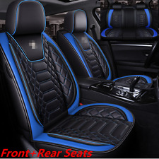 Car SUV Front+Rear Standard 5-Seats Premium Interior Seat Covers Cushion Kits