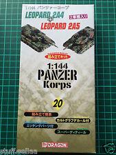 MODERN LEOPARD 2A4 + 2A5 tanks #20 - Dragon 1/144 scale model kit army tank war