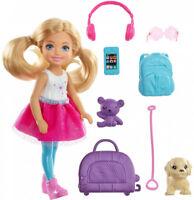 Barbie Chelsea Travel Doll Kid Girl Toy Gift