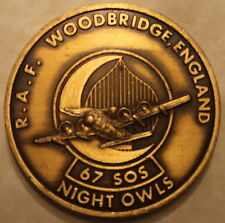 67th Special Operations Sq RAF Woodbridge Combat Rescue Air Force Challenge Coin